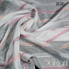 Vorhang Ambrosia typ Leinen Linien Panel 1 140x290 cm verschiedene Farben