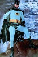 Batman Adam West 1967 Vintage Postcard TV Promo Photo Litho Superhero EX COA