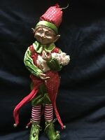 Large Red Christmas Elf