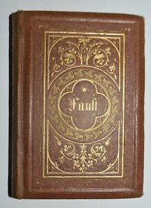 FAUST DI GOETHE - fig. 1870 - 7 tavole - in tedesco