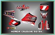 Honda CR125 93-94 CR250 92-94  CUSTOM two two  GRAPHIC KITS DECAL
