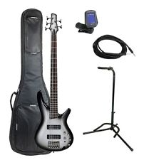 Ibanez SR305EMSS 5-String Bass Guitar Pack With Deluxe Bag & Accessories