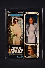 "Vintage Kenner Star Wars 12"" Inch Princess Leia Organa Action Figure MISB AFA 85"