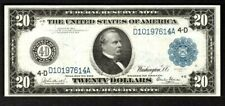1914 $20 CLEVELAND OHIO FRN ((Rare GLASS Signature))