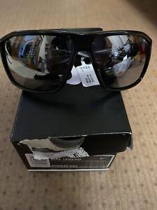 NIKE - LEGEND Shiny Black Volt Sunglasses/ Silver Mirror CAT.3 Lens EV0940 001