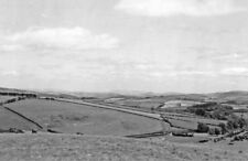 PHOTO  GLAMORGAN  EASTWARD ON A488 FROM PEN-Y-BONT TOWARDS KNIGHTON TEME VALLEY