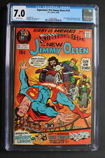Superman's Pal Jimmy Olsen #133 KIRBY'S 4th WORLD BEGINS DC 1970  MOVIE CGC 7.0