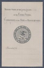 Bookplate for The Military Order of the Loyal Legion of The United States