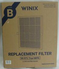 Genuine Winix 114190 Replacement Filter B for 9500 U300 Air Purifiersblack