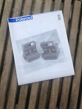 original Polaroid Bedienungsanleitung Manual 636, 636 close up deutsch+multiling