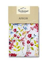 """""""COOKSMART APRON"""" Floral Romance kitchen Wear Cloth Cooking Apron 100 % Cotton"""