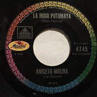 """Las Bodas Lucho Campillo Aniceto Molina 7"""" 45rpm Vallenato Colombia '69 Corrigua"""