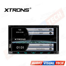 "XTRONS Double 2 DIN 6.95"" In Dash Car Stereo Radio CD DVD Player GPS Sat Nav RDS"