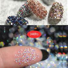 Nail Art Decoration Glitter Crystal Glass Caviar Beads Tiny 3D Micro Pixie Merma