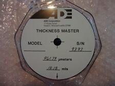 ADE 450um Thickness Master, 125mm, 020986-18