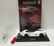 Kyosho 1:64 Ferrari Collection 12 Ferrari LaFerrari white Brand new