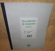 DOCUMENTO DI TRASPORTO DDT AUTOCOPIANTI 50 MODULI 2 COPIE FLEX 1687CDA cod.11342
