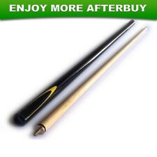 EyeCue Black Potter 2-Piece Cue Pool Snooker Billiard Ozstock