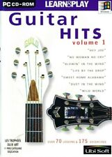 Guitar HITS Vol 1-Learn To Play-Lehrer Nachhilfe Lektionen PC CD-ROM (NEU)