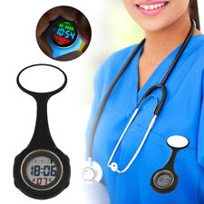 Pin on Multi-function Digital Silicone Fob Nurse Watch Night Lights Stopwatch
