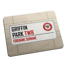 Brentford F.C - Personalised Mouse Mat (STREET SIGN)