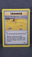 Rocket's Minefield Gym 119 Gym Challenge Uncommon Pokemon Card Near Mint