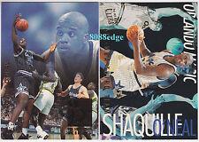 "(2) FLEER ULTRA REBOUND KING + ALL-NBA: SHAQUILLE O'NEAL ""SHAQ"" MAGIC INSERT LOT"