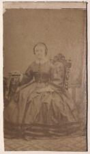 Menard à Granville Photographie Carte de visite Cdv Vintage Albumine c1860