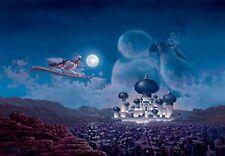 Tenyo Jigsaw Puzzle D-1000-423 Disney Aladdin 1000 Pieces F/S w/Tracking# Japan