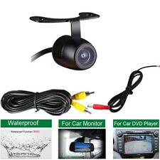 12V 170° Mini Color CCD Reverse Backup Car Front Rear View Camera Night Vision