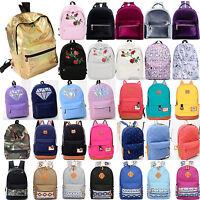 Women Girls School Backpack Satchel Travel Shoulder Handbag Rucksack Laptop Bag