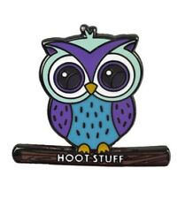 OWL Enamel PIN HOOT STUFF Hat Lapel Backpack Pin