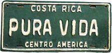 Costa Rica Pura Vida    Vintage 1950's Style  Travel Decal  Sticker  Label