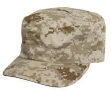 Military Fatigue Patrol Cap Hat Desert Digital Camo Camouflage Rothco 4541