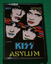 Kiss Asylum Cassette New Case Resealed US 1985 826 099-4M-1 Mercury Near Mint