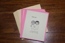 Love Is...Kim Casali Set of 9 Blank Notes and 10 Envelopes