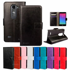 Synthetic Leather Mobile Phone Wallet Cases for LG with Clip