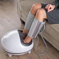 Circulation Improving Foot Calf Heat Massager Shiatsu Compression Node Massage