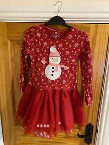 Girls Christmas Dress Age 6-7