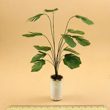 1/12 Scale Dollhouse Miniature Potted Clay Tree Plant Green Plant Garden Tools