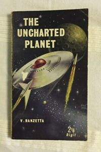 The Uncharted Planet by V. Ranzetta (1962 vintage science fiction paperback)
