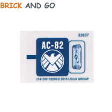 1 x LEGO Stickers Autocollants Super Heroes Marvel 76036 Shield NEUF NEW