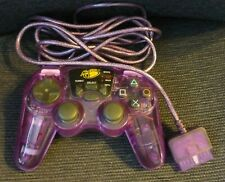 MadCatz Clear Purple Dual Force Playstation Wired Controller Item# 8026