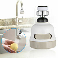 Moveable Kitchen Tap Head 360° Rotatable Faucet Water Saving Filter Sprayer Hot