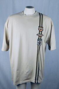 Harley Davidson Smoky Mountain Men's 2XL Tan Cotton T-Shirt Gatlinburg Tennessee