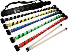 Flames N Games Dexter PRO DIAVOLO Bastone Set + in silicone in legno handsticks + BAG
