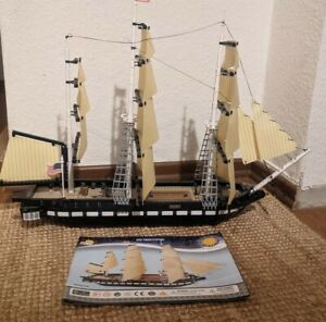 Cobi USS Constitution (Smithsonian) Klemmbaustein Segelschiff