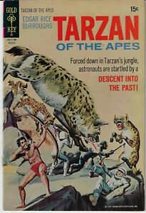 TARZAN OF THE APES # 202 GOLD KEY 1971