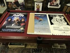 This Is Spinal Tap Vintage 1984 Video Store Standee Floor Display &Poster VTG OG