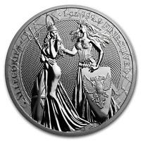 1 oz Silver Round - Germania Allegories 2019 BU (Special Blister) - SKU#197533